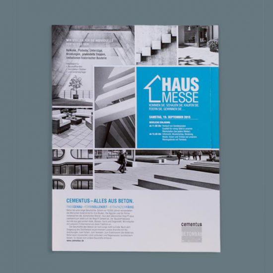 Layout und Gestaltung Anzeige von Julia Friedl