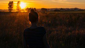 Fotografie Sonnenaufgang von Julia Friedl