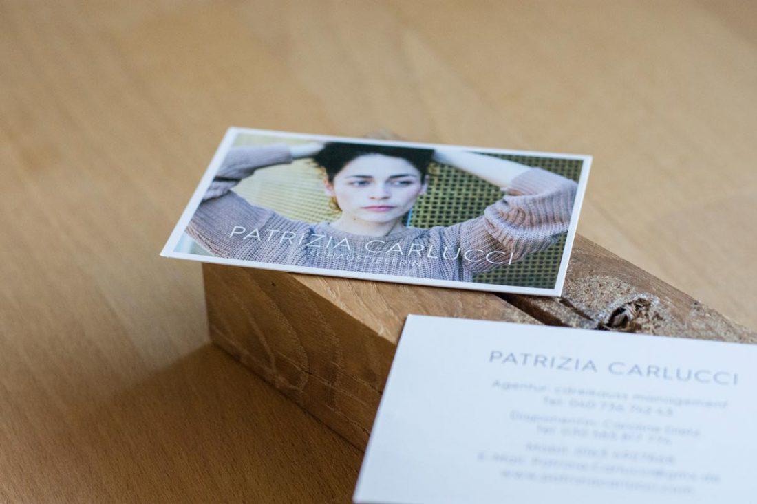 Visitenkarte mit Bild passend zur Setkarte