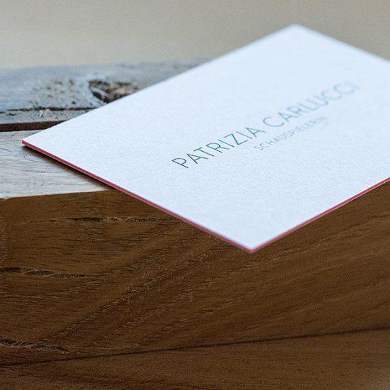Corporate Design für Schauspielerin Patrizia Carlucci